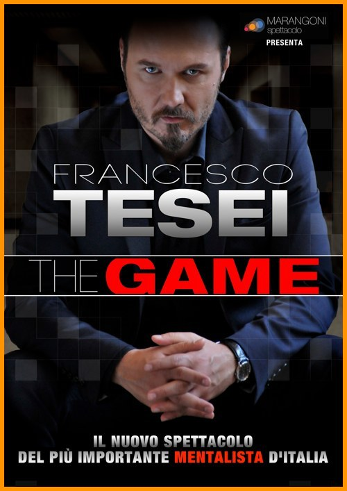 Francesco Tesei il mentalista The Game poster